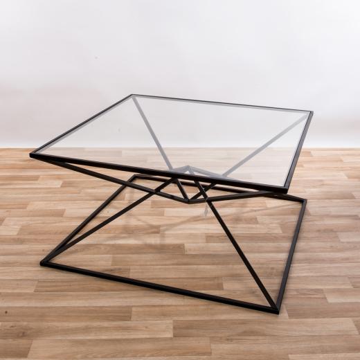 Gin Shu Metal Coffee Table - Black EXTRA PACKAGE